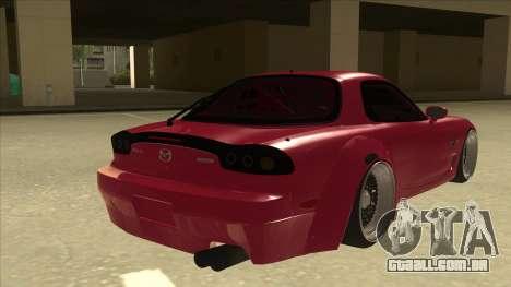 Mazda RX7 FD3S Rocket Bunny para GTA San Andreas vista direita