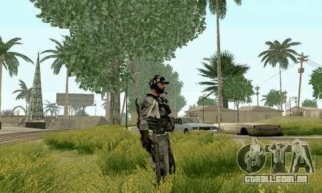 CZ 805 do campo de batalha 4 para GTA San Andreas terceira tela