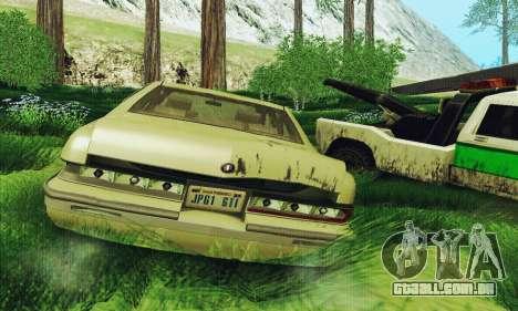 Buick Roadmaster quebrado para GTA San Andreas vista direita