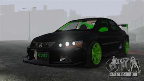 Mitsubishi Lancer Evolution VII Freestyle para GTA 4