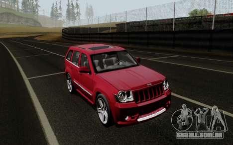 Jeep Grand Cherokee SRT10 para GTA San Andreas