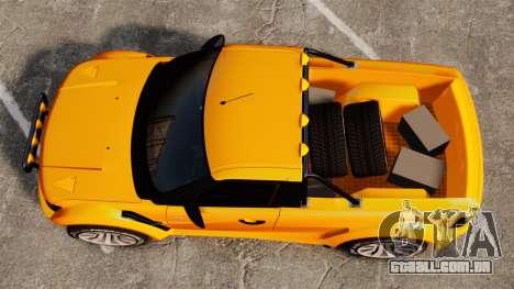 Land Rover Bowler Pick UP para GTA 4 vista direita