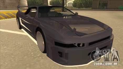 DoTeX Infernus V6 History para GTA San Andreas esquerda vista