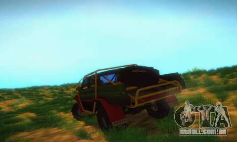UAZ Patriot Pickup para GTA San Andreas vista direita