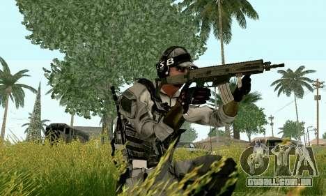 CZ 805 do campo de batalha 4 para GTA San Andreas