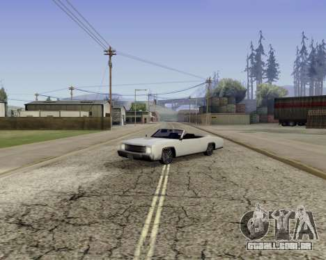 Buccaneer (beta) para GTA San Andreas