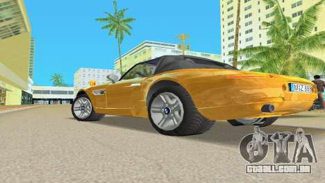 BMW Z8 para as rodas de GTA Vice City