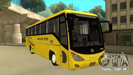 Kinglong XMQ6126Y - Bachelor Tours 435 para GTA San Andreas esquerda vista