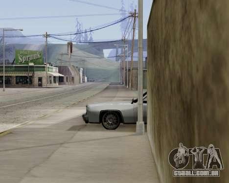 Buccaneer (beta) para GTA San Andreas traseira esquerda vista