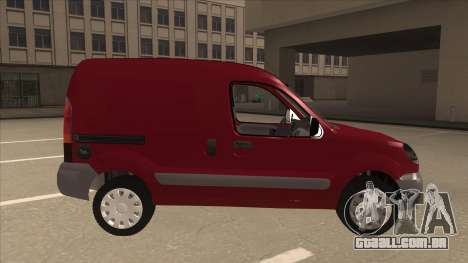 RENAULT KANGOO v1 para GTA San Andreas traseira esquerda vista