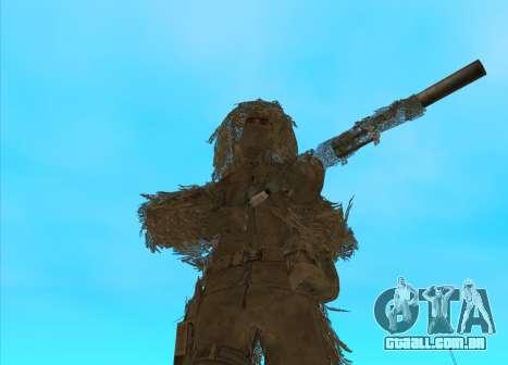 Sniper MacMillan para GTA San Andreas segunda tela