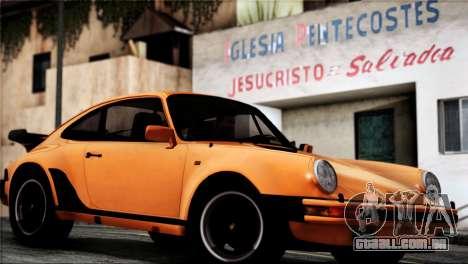 Porsche 911 Turbo 3.3 Coupe 1982 para GTA San Andreas vista direita