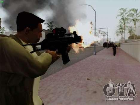 HK-G36C para GTA San Andreas segunda tela
