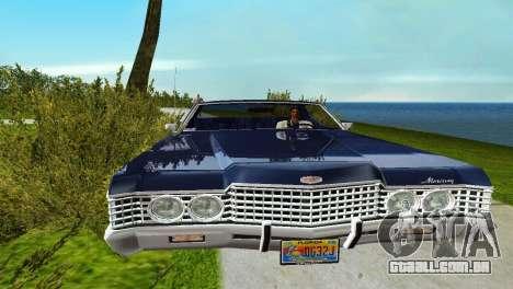 Mercury Monterey 1972 para GTA Vice City vista traseira esquerda
