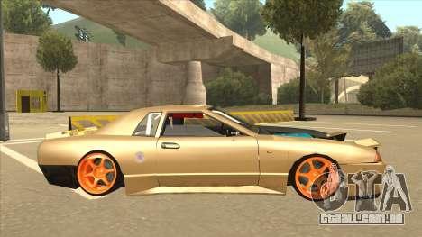 Elegy K22 King Swap para GTA San Andreas traseira esquerda vista