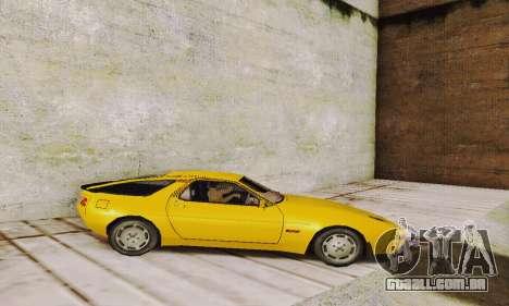 Porsche 928 (1986) v1.1 para GTA San Andreas esquerda vista