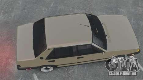 Tofas Dogan SLX para GTA 4 vista direita