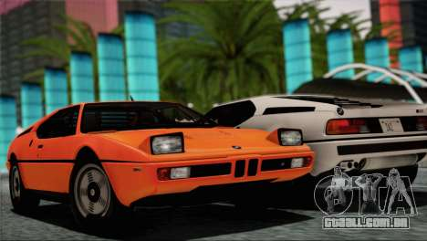 BMW M1 (E26) 1979 para as rodas de GTA San Andreas