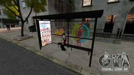 Animação japonesa para GTA 4 por diante tela