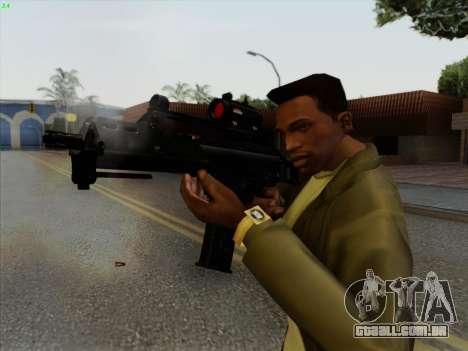 HK-G36C para GTA San Andreas terceira tela