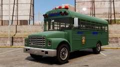 O ônibus da prisão, Nova Iorque