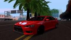 Mitsubishi Lancer Evo Drift Edition para GTA San Andreas