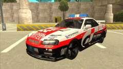 Nissan Skyline BNR34 GT4 Pace Car para GTA San Andreas