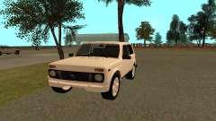 VAZ 21213 JIPE Niva para GTA San Andreas