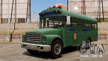 O ônibus da prisão, Nova Iorque para GTA 4