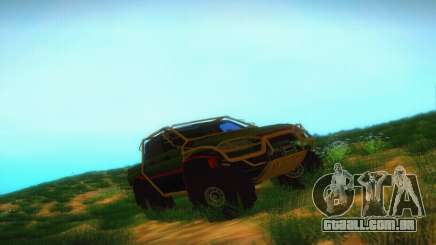 UAZ Patriot Pickup para GTA San Andreas