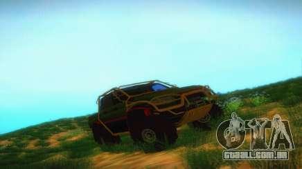 UAZ Patriot Pickup para GTA San Andreas