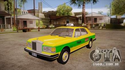 Rolls-Royce Silver Spirit 1990 Taxi para GTA San Andreas