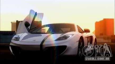 Mclaren MP4-12C para GTA San Andreas