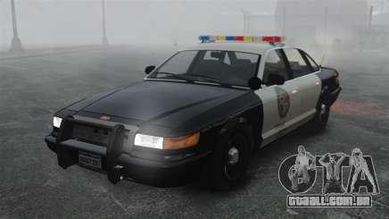 Uma viatura policial GTA V para GTA 4