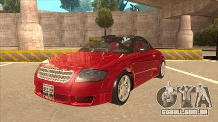 Audi TT Coupe BiMotor Black Revel para GTA San Andreas