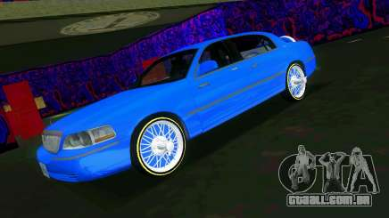 Lincoln Town Car Tuning para GTA Vice City