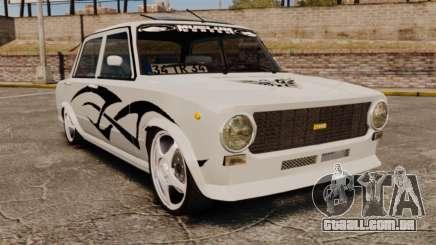 Fiat 124 Tuning para GTA 4