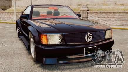 Mercedes-Benz C126 500SEC para GTA 4