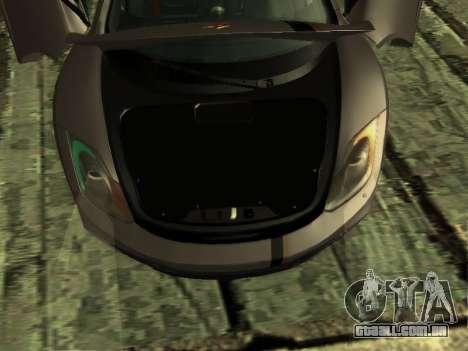 McLaren MP4-12C WheelsAndMore para GTA San Andreas vista inferior