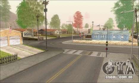 Ruas vazias (Screenshots) para GTA San Andreas terceira tela