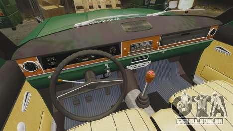 Volga GAZ-24-02 para GTA 4 vista interior
