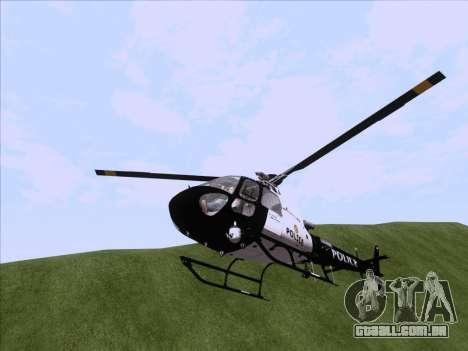 Police Maverick GTA 5 para GTA San Andreas vista direita