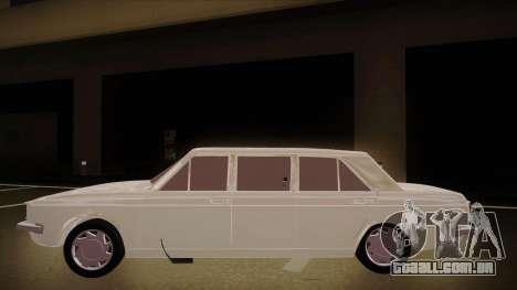 Paykan Limousine para GTA San Andreas traseira esquerda vista