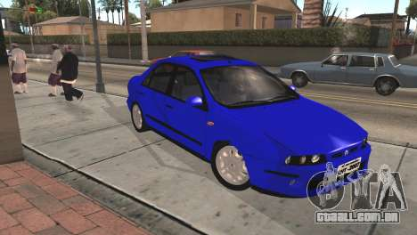 Fiat Marea Sedan para GTA San Andreas vista direita