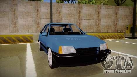 Chevrolet Kadett para GTA San Andreas esquerda vista
