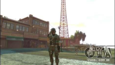Um soldado russo v 1.0 para GTA 4