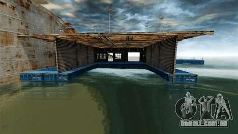 Base naval para GTA 4 terceira tela