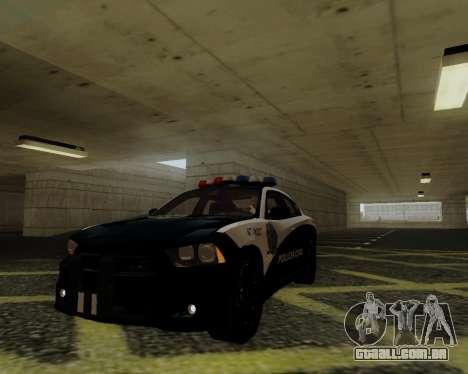 Dodge Charger 2012 Police IVF para GTA San Andreas