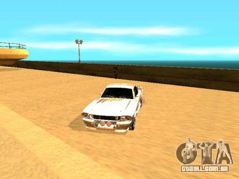 Ford Shelby GT-500E Eleanor para GTA San Andreas interior