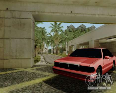 Premier tonificado para GTA San Andreas traseira esquerda vista